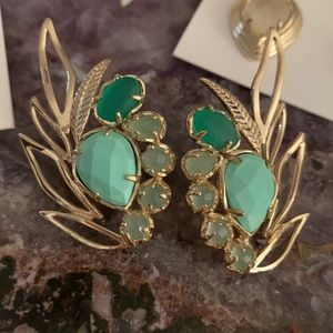 Very used Kendra Scott Robin vintage earrings